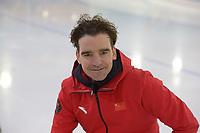 SCHAATSEN: HEERENVEEN: 16-11-2018, Bob de Jong trainer China, ©foto Martin de Jong