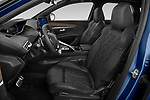 Front seat view of 2021 Peugeot 3008 GT-Pack 5 Door SUV Front Seat  car photos