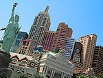 New York New York Hotel & Casino in Las Vegas, Nevada.