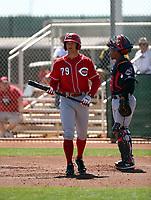 Nick Senzel - Cincinnati Reds 2018 spring training (Bill Mitchell)