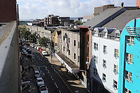 WORDS BY KARL WEST<br />Pictured: The High Street as seen from the roof top of Coastal offices Friday 30 September 2016<br />Re: The regeneration of the High Street in Swansea, Wales, UK