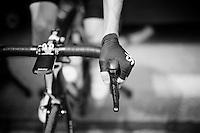 Luke Rowe (GBR/SKY) warming up pre-stage<br /> <br /> Stage 19:  Albertville › Saint-Gervais /Mont Blanc (146km)<br /> 103rd Tour de France 2016
