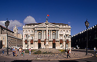 Lisbon. Old City Hall. Praca do Municipio. Built in 1774.  Portugal..