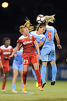 Boyds, MD - Saturday August 26, 2017: Tori Huster, Danielle Colaprico, Julie Ertz during a regular season National Women's Soccer League (NWSL) match between the Washington Spirit and the Chicago Red Stars at Maureen Hendricks Field, Maryland SoccerPlex.