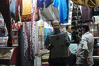 Individual shops in Madras, India