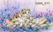 Kayomi, CUTE ANIMALS, LUSTIGE TIERE, ANIMALITOS DIVERTIDOS, paintings+++++,USKH277,#AC# ,everyday