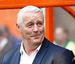 Nederland, Volendam, 31 mei 2015<br /> Playoffs om promotie/degradatie<br /> Seizoen 2014-2015<br /> FC Volendam-De Graafschap<br /> Hans de Koning, trainer-coach van FC Volendam.