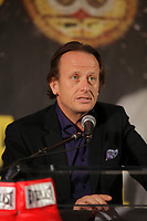Montreal, CANADA, Marc 11, 2015.<br /> <br /> Jean bedard attend the<br />  news conference about their upcoming  Kovalev- Pascal fight on March 14, 2015 at the Bell Centre in Montreal.
