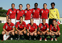 Ferreiras, PORTUGAL: Starting 11 at the Nora Stadium in Ferreiras, March 09 of 2007, during the Algarve Women´s Cup soccer match between USA and Finland. USA won 1-0. Paulo Cordeiro/International Sports Image