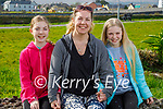 Enjoying a stroll in Blennerville on Thursday, l to r: Keelin Griffin, Jenna Groves and Ellsa Griffin.