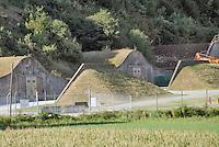 - Camp Ederle US Army base,  ammunition warehouse ASP 7 (Ammunition Supply Point 7) in Tormeno....- base US Army di caserma Ederle, deposito di munizioni ASP 7 (Ammunition Supply Point 7) di  Tormeno..