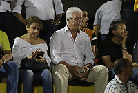 NEIVA - COLOMBIA, 20-02-2020. Jorge Fernando Perdomo ,presidente del Atlético Huila.Atlético Huila y Llaneros  en partido de  ida  por la primera ronda de clasificación de la Copa Betplay DIMAYOR 2020 jugado en el estadio Guillermo Plazas Alcid de Neiva. / Jorge Fernando Perdomo presiident of Atletico Huila.Atletico Huila and Llaneros for the firts leg match BetPlay DIMAYOR Cup 2020 played at Guillermo Plazas Alcid stadium in Neiva city. Photo: VizzorImage / Sergio Reyes / Contribuidor