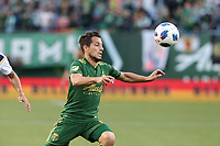 Portland, OR - Friday June 15, 2018: Portland Timbers defeated the Los Angeles Galaxy 1-0 in a 2018 Lamar Hunt U.S. Open Cup round of 16 match at Providence Park.