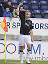 27/09/2008  Copyright Pic: James Stewart.File Name : sct_jspa25_falkirk_v_hamilton.SCOTT ARFIELD CELEBRATES AFTER HE SCORES FALKIRK'S FOURTH GOAL.James Stewart Photo Agency 19 Carronlea Drive, Falkirk. FK2 8DN      Vat Reg No. 607 6932 25.Studio      : +44 (0)1324 611191 .Mobile      : +44 (0)7721 416997.E-mail  :  jim@jspa.co.uk.If you require further information then contact Jim Stewart on any of the numbers above........
