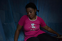 """Cameroon - Douala - """"Since I had met him, he always had the intention to leave. We have been together for 9 years, but I knew that, one day, he would have left."""" With her low-tone of voice and her remissive behaviour, 31-year-old Lady Njoya is a woman worn out by life. One year ago, she was raising her three children in the city of Yaounde, together with her husband, 47-year-old Ismael Njoya. Now that he is gone, she has moved to the business city of Douala, where she rents a minuscule house in a popular area."""