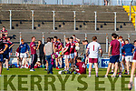 Causeway team after the Kerry County Senior Hurling Championship Final match between Kilmoyley and Causeway at Austin Stack Park in Tralee