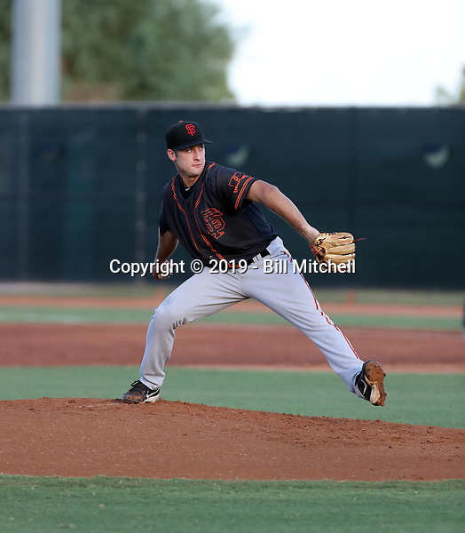 Trevor McDonald - 2019 AZL Giants (Bill Mitchell)