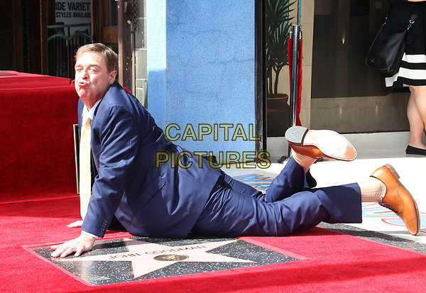 HOLLYWOOD, CA - March 10: John Goodman, At John Goodman Honored With Star On The Hollywood Walk Of Fame At On The Hollywood Walk Of Fame In California on March 10, 2017. <br /> CAP/MPI/FS<br /> ©FS/MPI/Capital Pictures