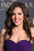 """LOS ANGELES - MAR 1:  Maria Canals-Barrera at the """"Cinderella"""" World Premiere at the El Capitan Theater on March 1, 2015 in Los Angeles, CA"""