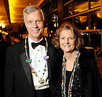 Joyce and Tom Standish at the University of St. Thomas Court of Diamond Jubilee at the HIlton Americas Hotel Tuesday Feb. 16,2010. (Dave Rossman Photo)