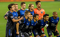 CARSON, CA - OCTOBER 14: San Jose Earthquakes starting eleven vs the Los Angeles Galaxy during a game between San Jose Earthquakes and Los Angeles Galaxy at Dignity Heath Sports Park on October 14, 2020 in Carson, California.