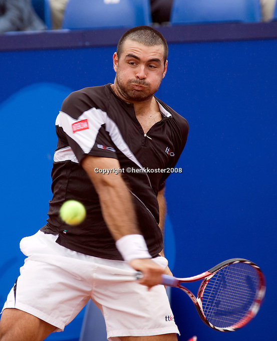 15-7-08, Amersfoort, Tennis, Dutch Open,  Ivan Navarro