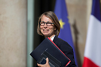 French Culture Minister Francoise Nyssen arrives to the Elysee presidential palace for the weekly cabinet meeting on Wednesday, 28 June 2017 in Paris # CONSEIL DES MINISTRES DU 28/06/2017