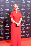 Actress Elena Irureta attends the red carpet previous to Goya Awards 2021 Gala in Malaga . March 06, 2021. (Alterphotos/Francis González)
