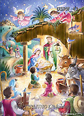 Randy, HOLY FAMILIES, HEILIGE FAMILIE, SAGRADA FAMÍLIA, paintings+++++Children's-Cute-Nativity-Scene,USRW41,#xr#