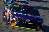 Monster Energy NASCAR Cup Series<br /> ISM Connect 300<br /> New Hampshire Motor Speedway<br /> Loudon, NH USA<br /> Sunday 24 September 2017<br /> Denny Hamlin, Joe Gibbs Racing, FedEx Ground Toyota Camry<br /> World Copyright: Nigel Kinrade<br /> LAT Images