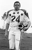 Bob Kosid 1970 Canadian Football League Allstar team. Copyright photograph Ted Grant