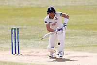Joe Denly bats for Kent during Kent CCC vs Yorkshire CCC, LV Insurance County Championship Group 3 Cricket at The Spitfire Ground on 18th April 2021