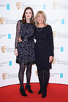 Amanda Berry and Jane Lush<br /> at the photocall for BAFTA Film Awards 2018 nominations announcement, London<br /> <br /> <br /> ©Ash Knotek  D3367  09/01/2018