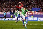 Atletico de Madrid's player Kevin Gameiro and PSV Eindhoven's player Hector Moreno during a match of La Liga at Santiago Bernabeu Stadium in Madrid. November 06, Spain. 2016. (ALTERPHOTOS/BorjaB.Hojas)