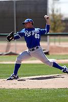 Josh Newman  - Kansas City Royals - 2009 spring training.Photo by:  Bill Mitchell/Four Seam Images