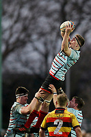 Tom Baldwin of Blackheath Rugby during the English National League match between Richmond and Blackheath  at Richmond Athletic Ground, Richmond, United Kingdom on 4 January 2020. Photo by Carlton Myrie.