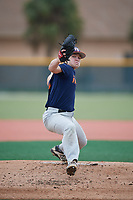 Nathan James (23), from Bryan, Ohio, while playing for the Astros during the Baseball Factory Pirate City Christmas Camp & Tournament on December 29, 2017 at Pirate City in Bradenton, Florida.  (Mike Janes/Four Seam Images)