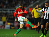 Saturday 17 November 2012<br /> Pictured: Itay Shechter of Swansea<br /> Re: Barclay's Premier League, Newcastle United v Swansea City FC at St James' Park, Newcastle Upon Tyne, UK.