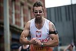 © Joel Goodman - 07973 332324 . 22/05/2016 . Manchester , UK . Finishing line . The Great Manchester Run in Manchester City Centre . Photo credit : Joel Goodman