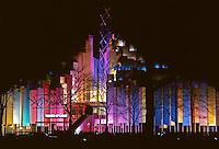 Tower of Light, 1964 World's Fair, Flushing Meadows, New York. Photo by John G. Zimmerman.