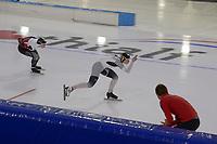 SCHAATSEN: HEERENVEEN: 10-01-2020, IJsstadion Thialf, European Championship distances, 1500m Ladies, Michelle Uhrig (GER), ©foto Martin de Jong