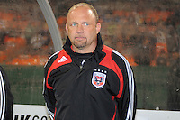 DC United Head Coach Tom Soehn.  Chicago Fire tied DC United 1-1 at  RFK Stadium, Saturday March 28, 2009.