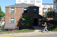 George Huguely, 22, a member of UVa's nationally ranked men's lacrosse team, faces a first-degree murder charge in the slaying of Yeardley Love, also 22, a women's lacrosse player who was killed in her apartment earlier this week in Charlottesville, Va. Huguely's apartment at 230 14th Street NW, shown, was located on the same street as Love's apartment.(Credit Image: © Andrew Shurtleff).
