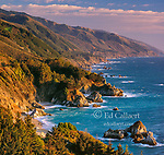 Coastline, Pfeiffer-Burns State Park, Big Sur, Monterey County, California