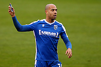 Jordan Graham of Gillingham, scorer of their only goal from the penalty spot during Gillingham vs Charlton Athletic, Sky Bet EFL League 1 Football at the MEMS Priestfield Stadium on 21st November 2020