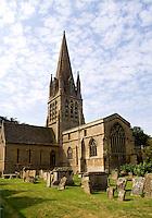 St Marys Church built in 1243, Witney,  England