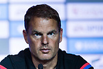 Crystal Palace FC head coach Frank de Boer talks during a Premier League Asia Trophy Press Conference at Grand Hyatt Hotel on July 21, 2017 in Hong Kong, China. Photo by Marcio Rodrigo Machado / Power Sport Images
