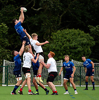 Saturday 5th September 2021<br /> <br /> Daniel Lane during U19 inter-pro between Ulster Rugby and Leinster at Newforge Country Club, Belfast, Northern Ireland. Photo by John Dickson/Dicksondigital