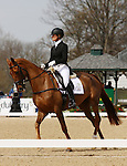 April 24, 2014: Manoir De Carneville and Sinead Halpin compete in the first day of Dressage at the Rolex Three Day Event in Lexington, KY at the Kentucky Horse Park.  Candice Chavez/ESW/CSM