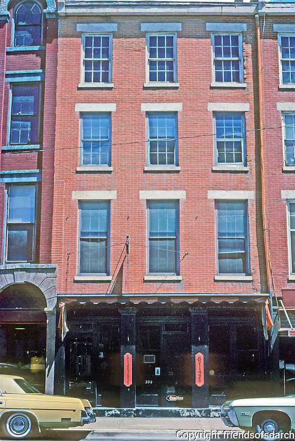 "Galena: Commercial Building, East ""Wall"", S. Main St. Photo '77."